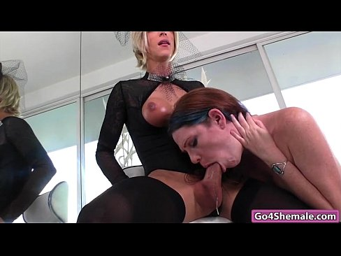 Cute Tranny Hooker Works Hard for the Money