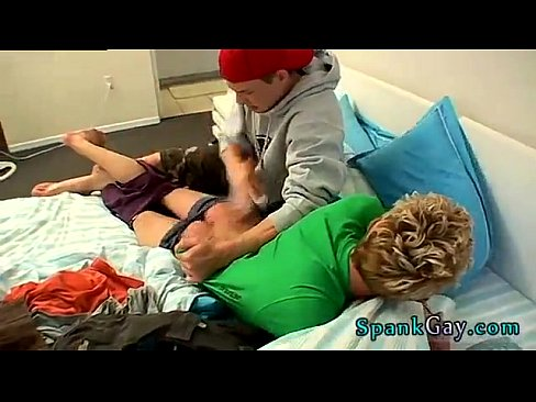 Gay spank hoyt gets a spanking fuck