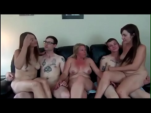 Mother daughter threesome cum swap vid