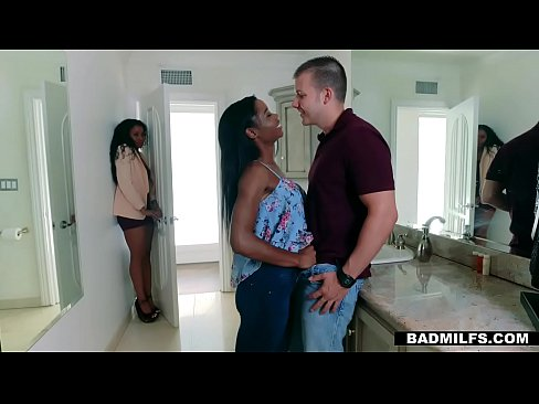 BadMilfs - Ebony Milf Fucks Son In Law, free sex video