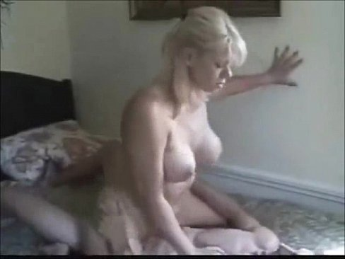 Blonde fucking with boy