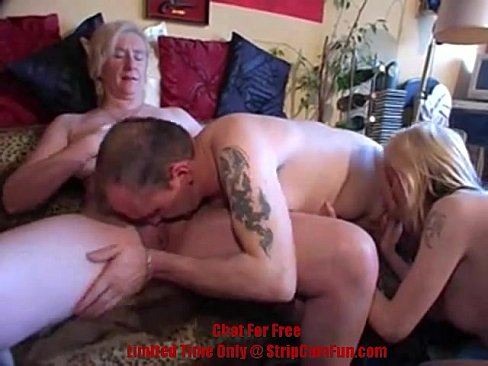 Home made threesome vid #9