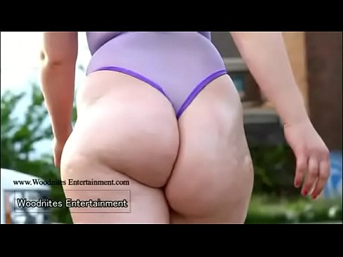 Beautiful PAWG with great ass twerking