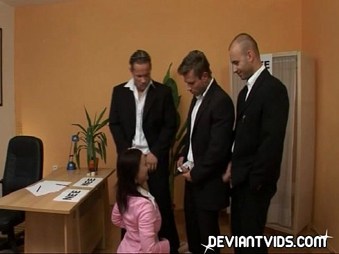 videos office gangbang