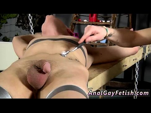 Mature outdoor bondage sex