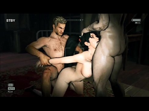 Video game sex compilation