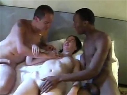 Husband shares amateur wife with black xxx