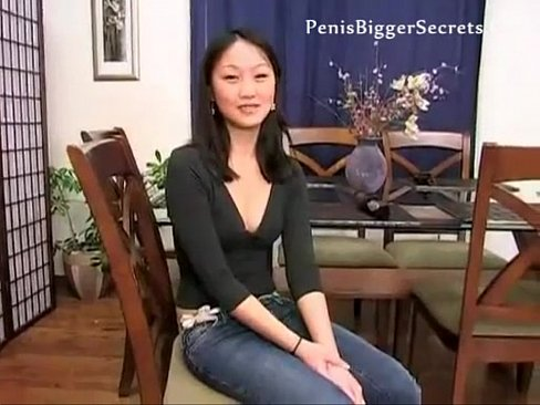 Asian first time anal