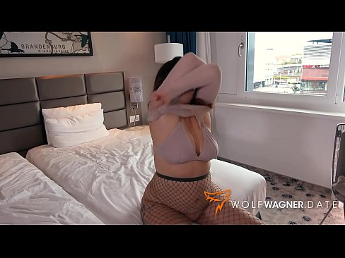 Filthy LIZ DE LANE gets banged doggystyle at a hotel by a sleazy guy&excl