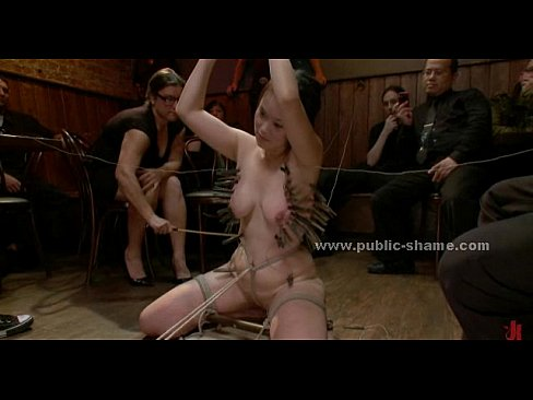Group bondage video