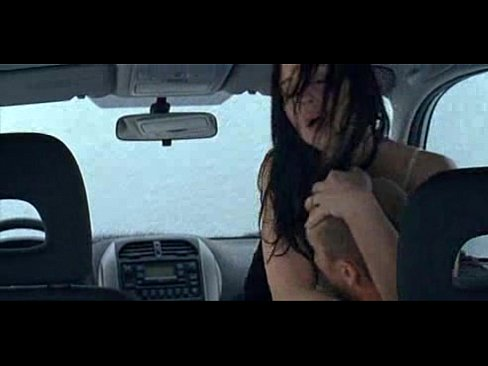 Sex scene in a car