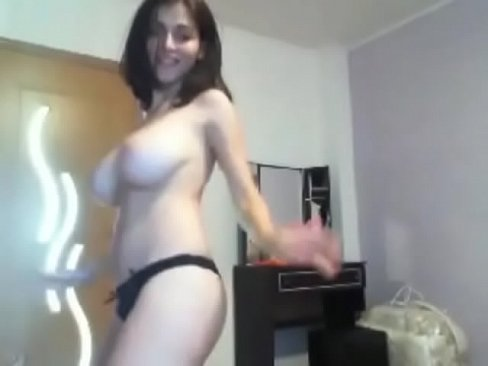 Absolutely super skinny with big tits