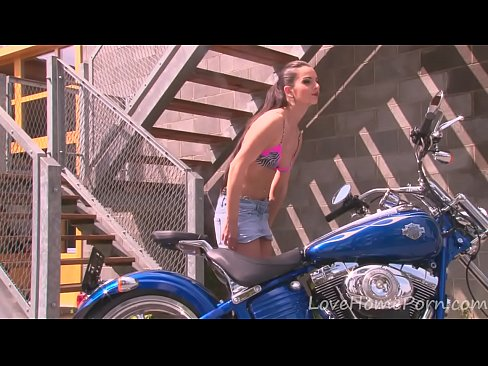 Authoritative point motorcycle girl desert nude not puzzle
