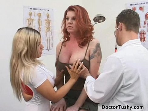 All became dr tushy anal exam film clips