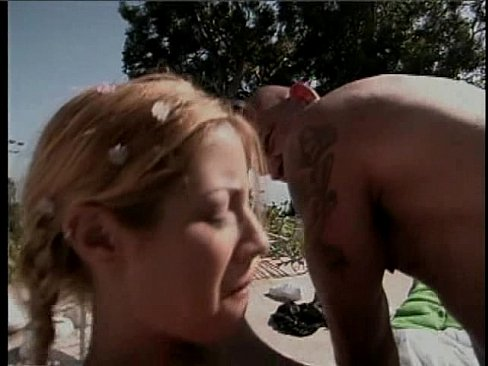 3some at the pool