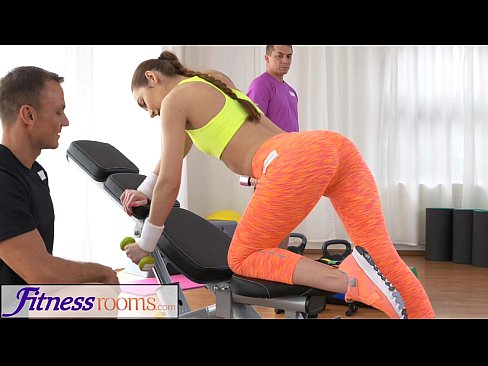 Girl Gets Fucked While Working Out