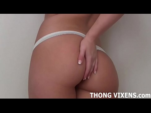 Let me bend over in my tiny little thong JOI