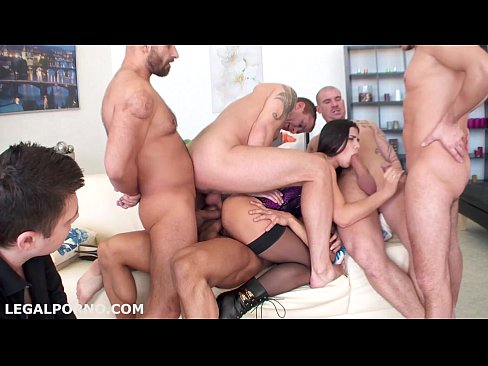 Multiple Cum Inside Gangbang Tube