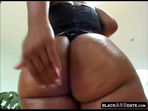 Fat black booty get fuck up