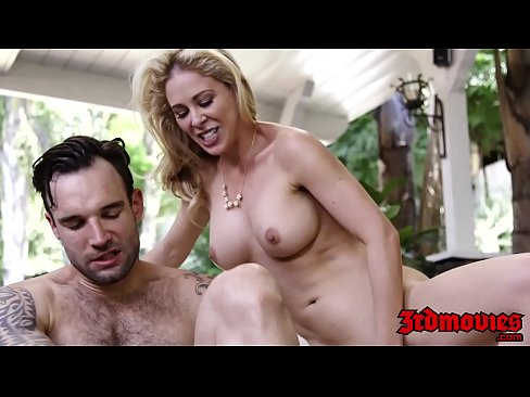 Busty Blonde Milf Cherie Deville Gets Hammered Hard