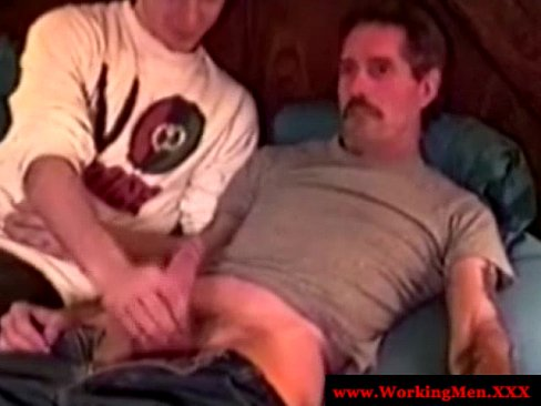 Officesex hunk tug cock after assfucking