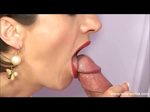 Cumshot compilation with the beautiful busty British mature Lady Sonia
