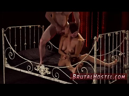 Rough Tied Up Anal Gangbang