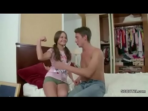 18yr old stepsister get fuck by stepbro when parents away 9