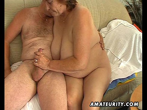 Older chubby wife sucking his cock 2
