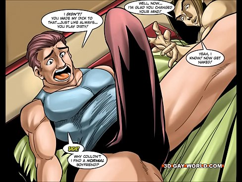 superhero xxx comics