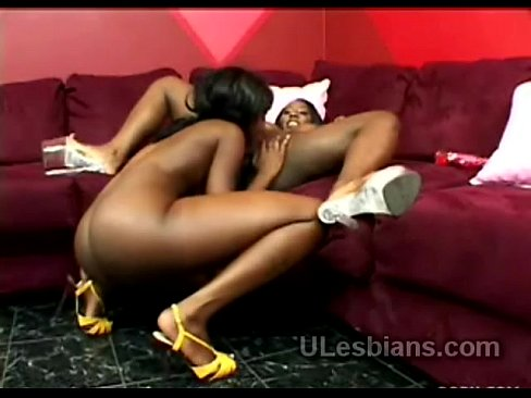 Excellent ebony lesbian oral sex are
