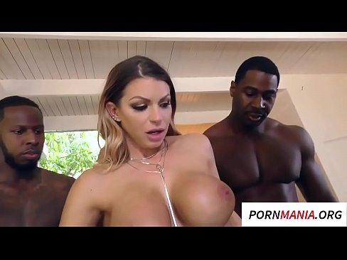 Big Boobs Interracial Gangbang