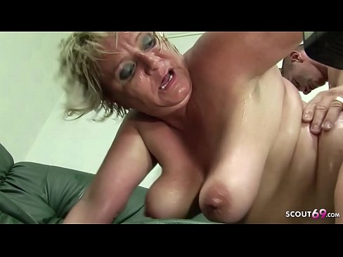 Mature french lady and boy