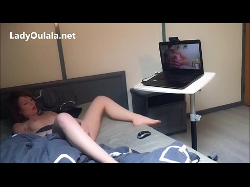 Masturbation avec un Fan en Webcam - Part 2