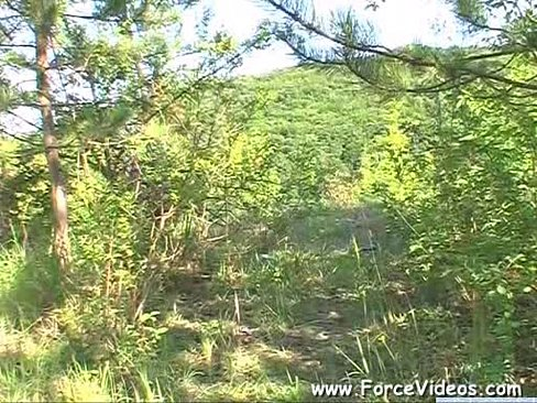 Masked Man Rapes A women Hard In Garden, Extreme www.ForceVideos.com