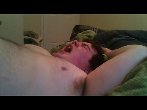 Chubby boy jerking off