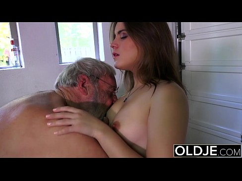 Old man with small cock dick sex on