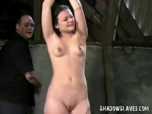 Bound tears lovely young woman tricked by policy slaved - 2 6