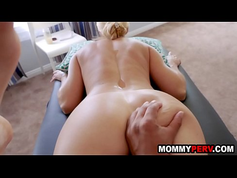 Step Mom Massage Daughter