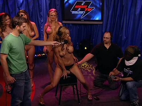 Brianna frost rides sybian on howard stern 5