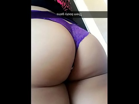 Fat ass with thong