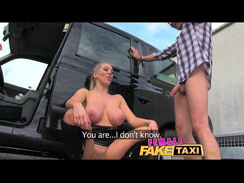 Open with chick shirt busty driving