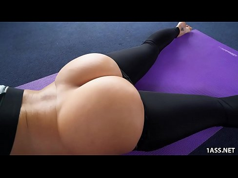 Yoga fuckinh pants booty Big in