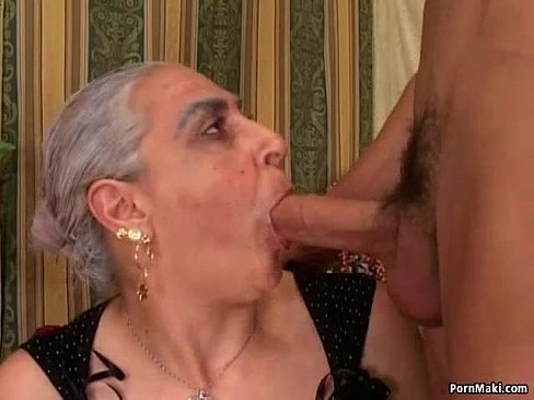 granny and big dick Granny love grandson big dick -  18 min.