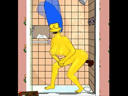 Pising simpsons xxx marge