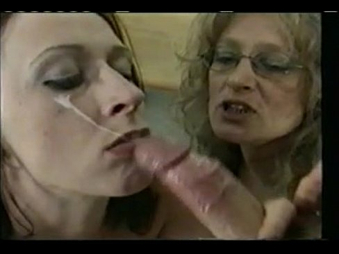 Mature german cumshots
