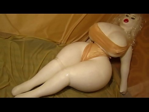 XXX pics sex with inflated doll demo