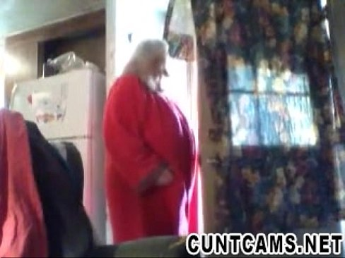 Trailer Park Landlord Flashes The Whole Park - More at cuntcams.net