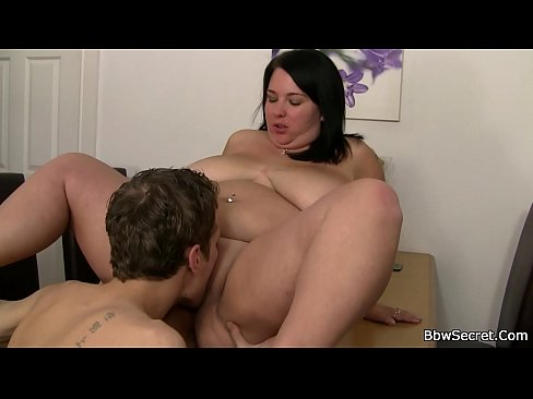 Thick Busty Brunette Creampie