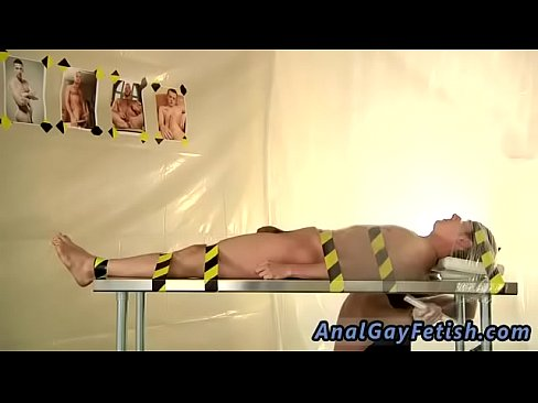 Man strapped down for sex #3